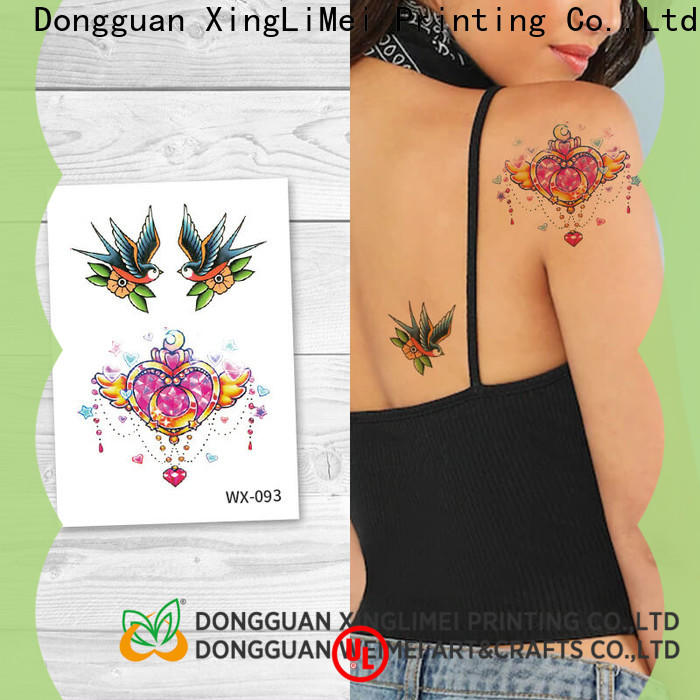 XingLiMei adult art temporary tattoos for women for decorative