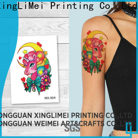XingLiMei personalized body art temporary tattoos for adult for decorative
