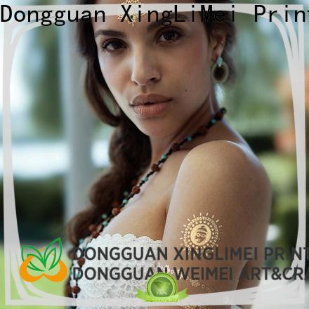 XingLiMei Metallic metallic jewelry tattoos supplier for wedding