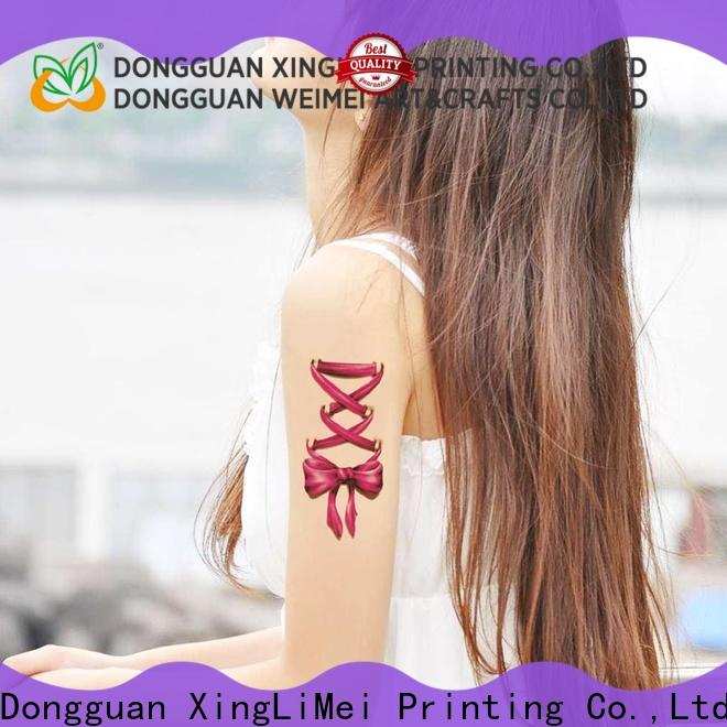 geometric printing temporary tattoos body necklace for shops
