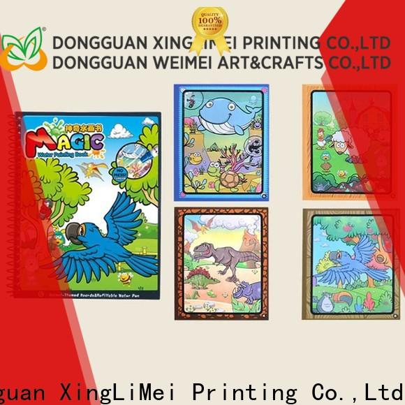 XingLiMei customized water colouring book for toddlers for parent-child