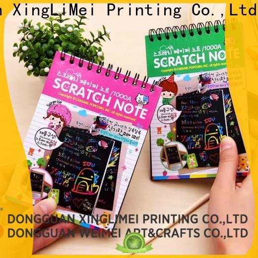 XingLiMei magic magic color scratch paper safe for handcraft