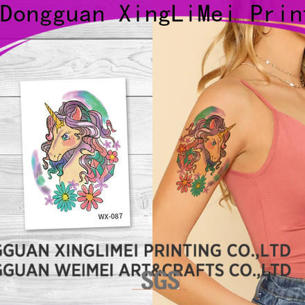 XingLiMei personalized best temporary tattoos for women for decorative
