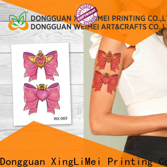 XingLiMei arms art temporary tattoos for girls for decorative