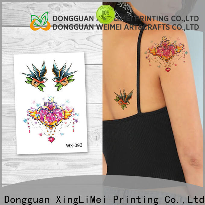 XingLiMei butterfly best temporary tattoos prices for party