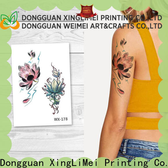 XingLiMei body sexy temporary tattoos for adult for wedding