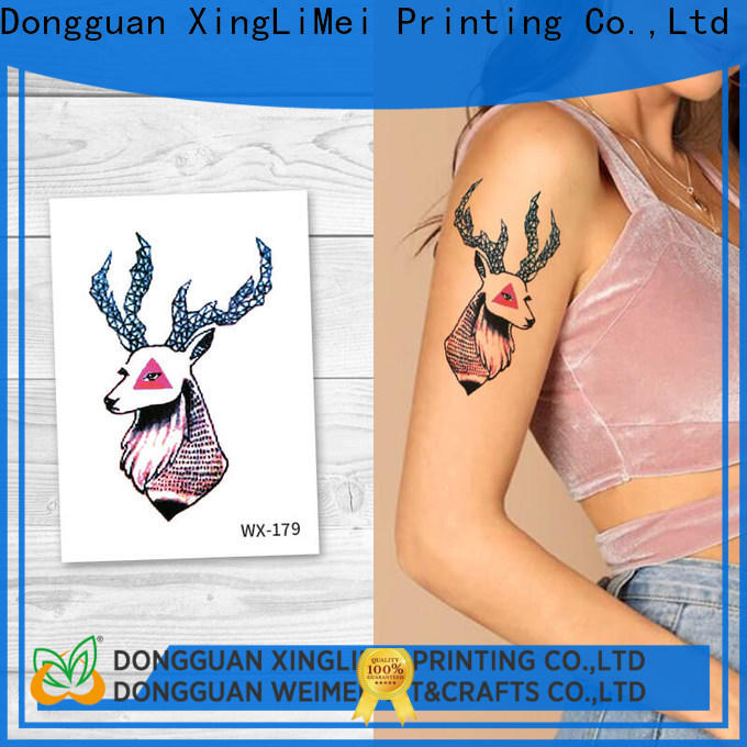 XingLiMei fashion temporary tattoos for girls for decorative