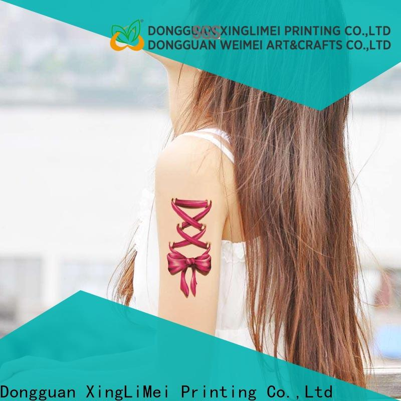 XingLiMei color custom temporary tattoos stickers for make up