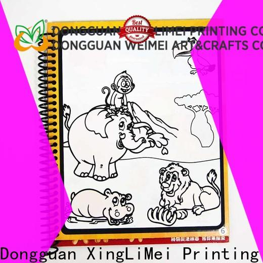XingLiMei reusable magic water colouring book for kids for family