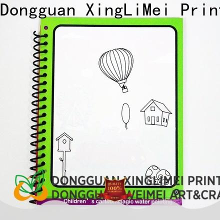 XingLiMei water water coloring books non-toxic for interaction