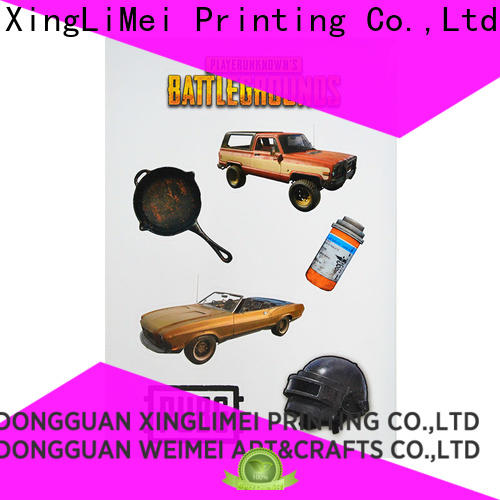 XingLiMei decoration custom vinyl stickers creator for Luggage