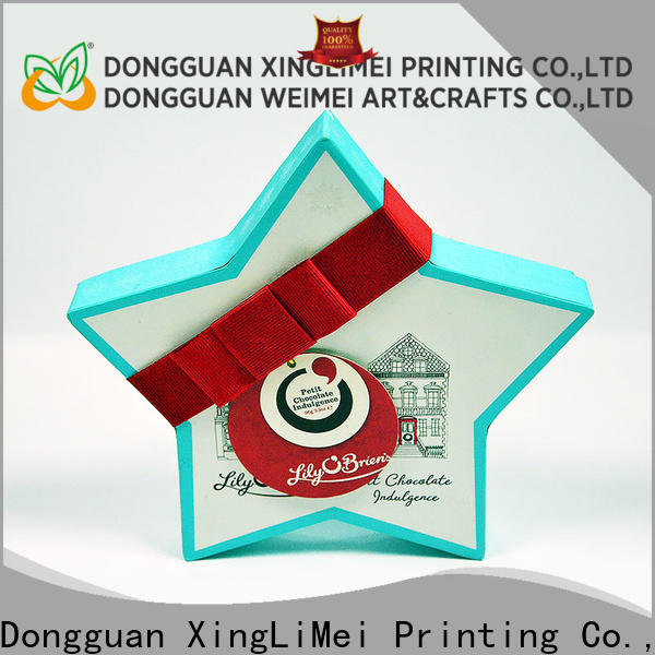 XingLiMei high quality packaging printing for weddings for gift