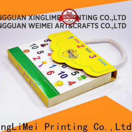 metallic books printing number directly sale for work
