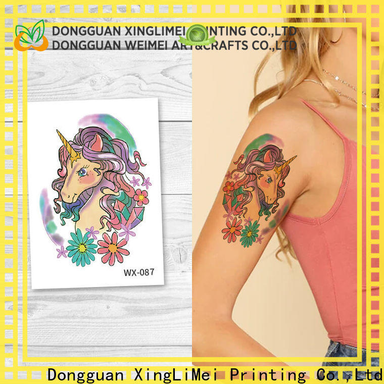 XingLiMei full color best temporary tattoos prices for wedding