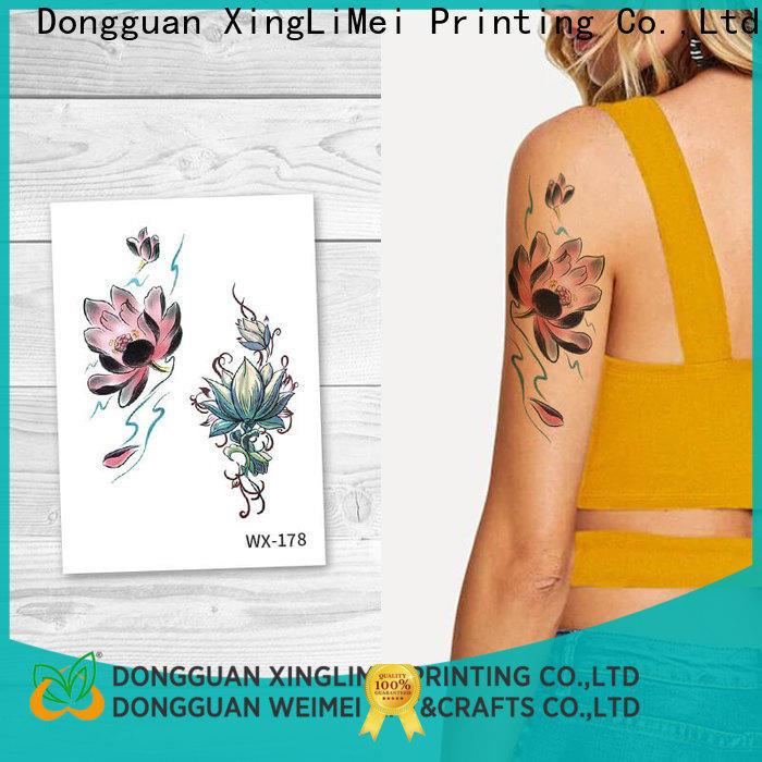 XingLiMei nontoxic non-toxic temporary tattoos prices for wedding