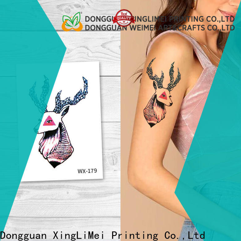 personalized artificial tattoo temporary for girls for party