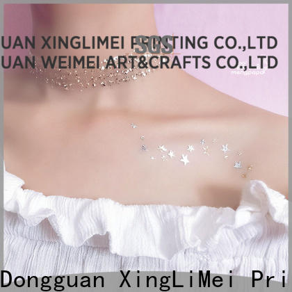 XingLiMei art metallic fake tattoos artist for beauty