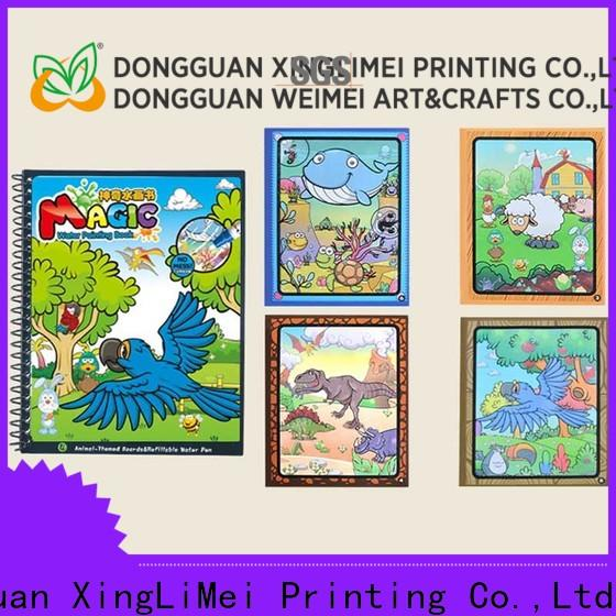 XingLiMei magic magic water coloring book tutorial for lesson