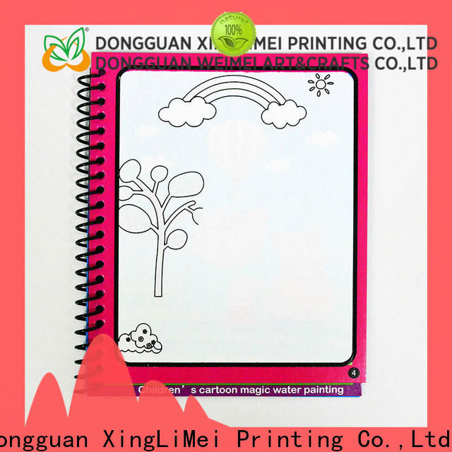 watercolor reusable water coloring book drawing non-toxic for lesson