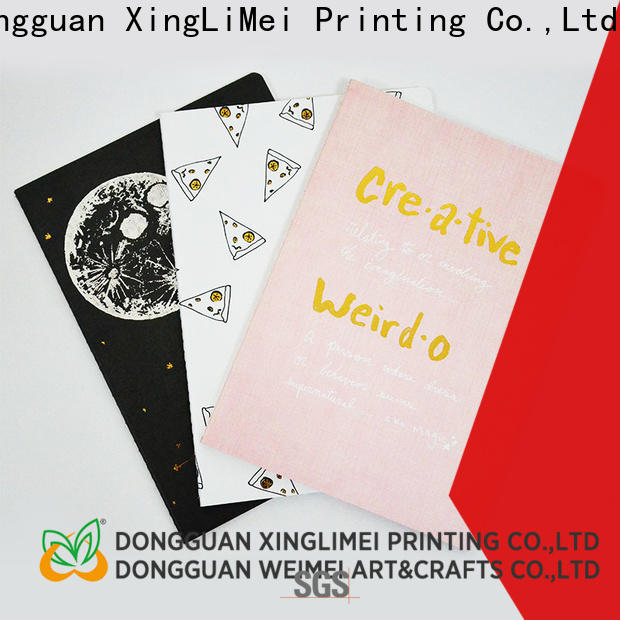 XingLiMei hardcover book printing for travel for meeting
