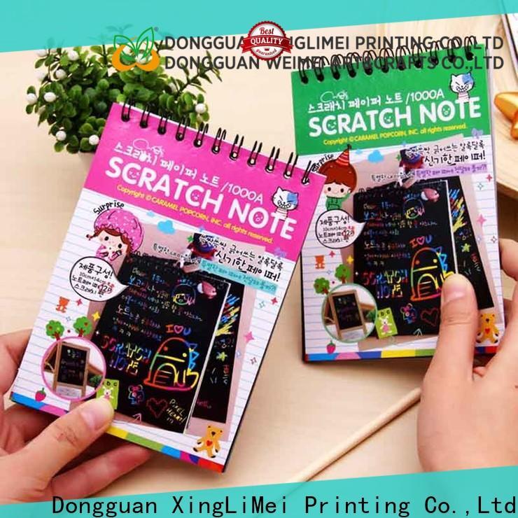 XingLiMei safe scratch art paper on sale for school