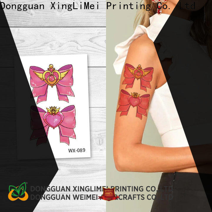 personalized color temporary tattoos wx093 for adult for wedding