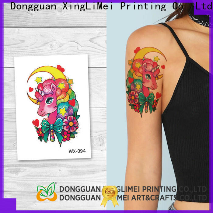 XingLiMei wrist non-toxic temporary tattoos prices for wedding