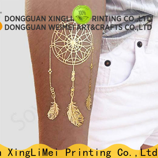 XingLiMei sexy temporary jewelry tattoos artist for necklace