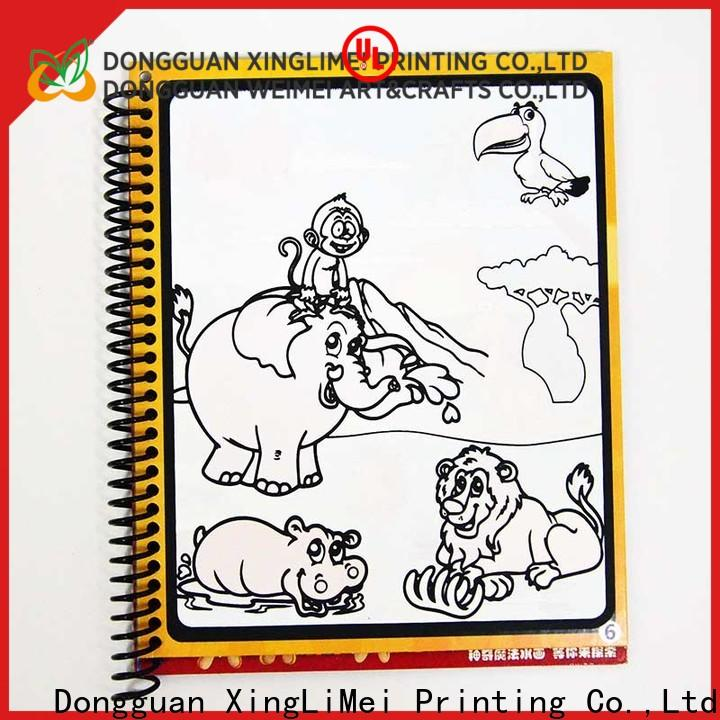 XingLiMei modern publishing reusable water coloring book supplies for interaction