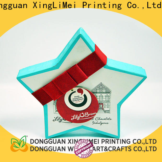 XingLiMei handmade customized gift box supplier for party