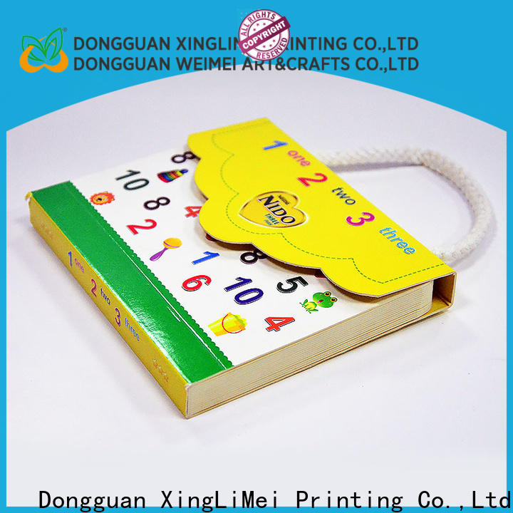 XingLiMei funny custom book printing for travel for work