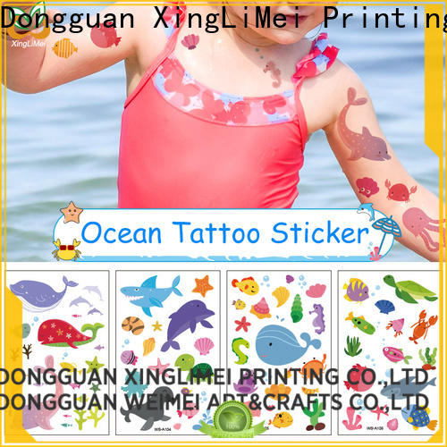 XingLiMei skin animal temporary tattoos quotes for beauty