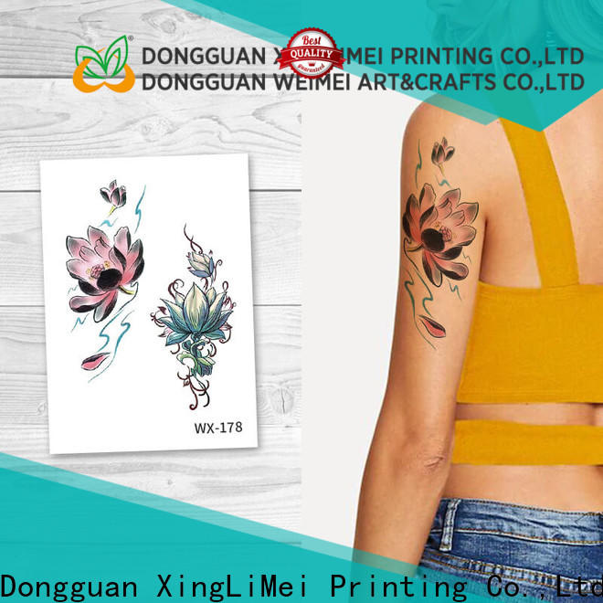 fake artificial tattoo fashion factory price for wedding