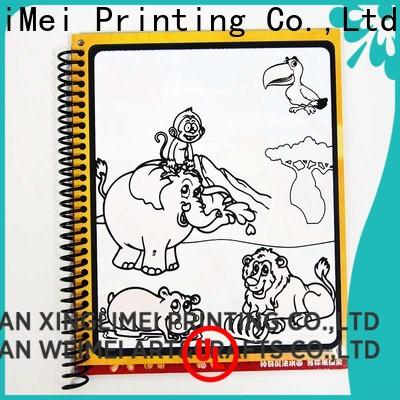 XingLiMei design reusable water coloring book for toddlers for interaction
