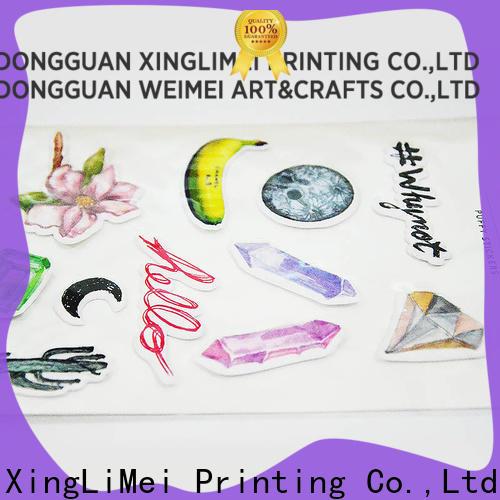 XingLiMei adhesive stickers printing creator for Snowboard