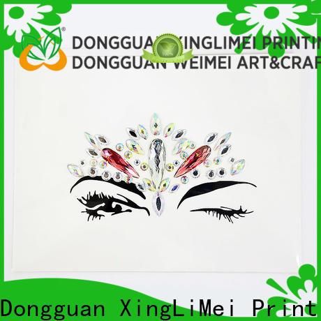 XingLiMei vinyl custom puffy stickers creator for bumper