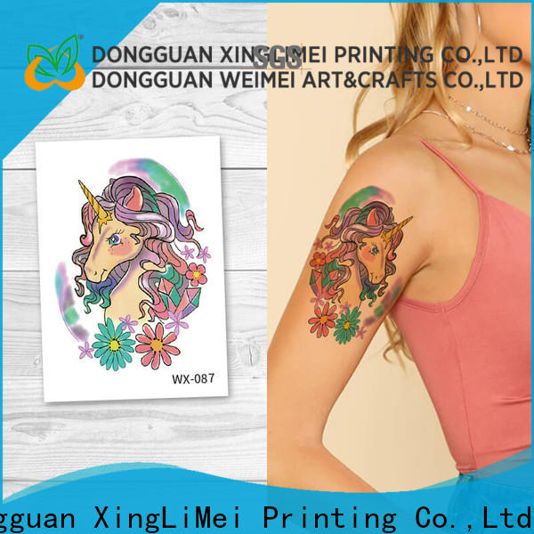 XingLiMei New fashion temporary tattoos company for wedding