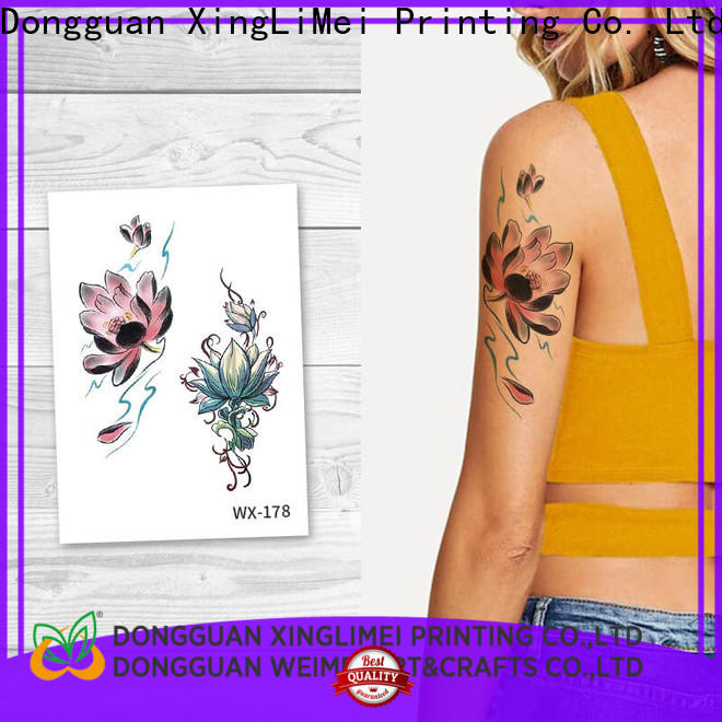 Top body art temporary tattoos wx089 Supply for decorative