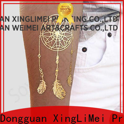 Latest custom gold temporary tattoos inspired manufacturers for wedding