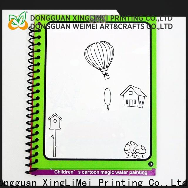 XingLiMei toys water coloring books company for lesson