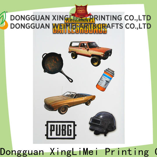 XingLiMei jewel stickers printing Suppliers for Helmet