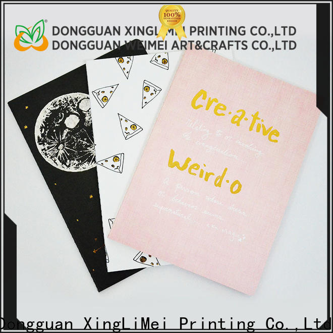 XingLiMei printing notebook printing Suppliers for family