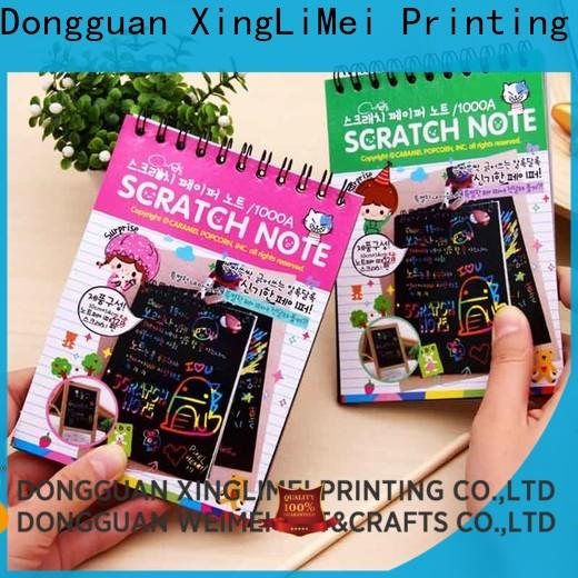 XingLiMei painting black scratch paper manufacturers for handcraft