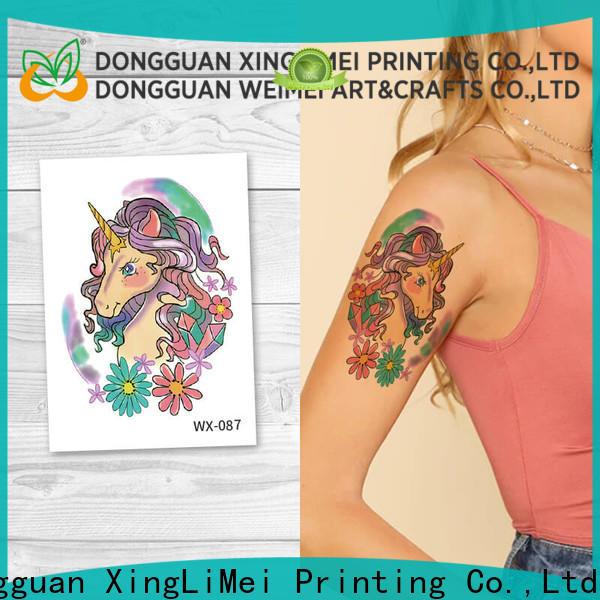 XingLiMei legs animal temporary tattoos company for beauty
