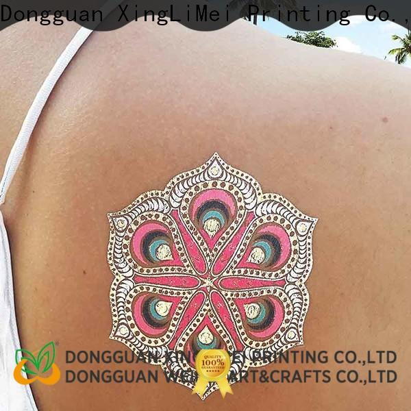 XingLiMei High-quality temporary jewelry tattoos manufacturers for wedding
