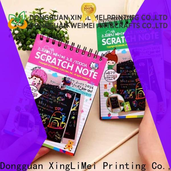 XingLiMei High-quality magic scratch paper Supply for school
