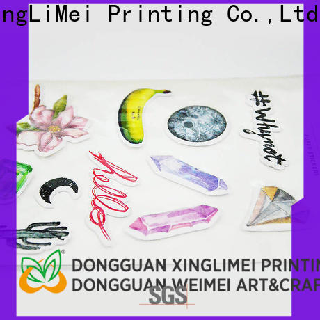 XingLiMei Top custom puffy stickers shipped to business for Graffiti