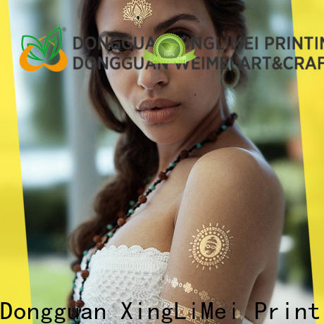 Best metallic tattoo stickers water manufacturers for beauty