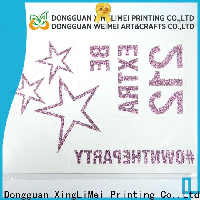 XingLiMei High-quality custom made temporary tattoos shipped to business for shops