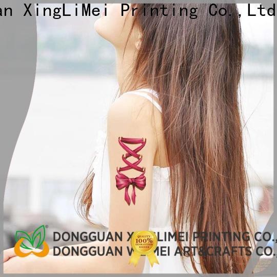 XingLiMei Best custom made temporary tattoos company for make up